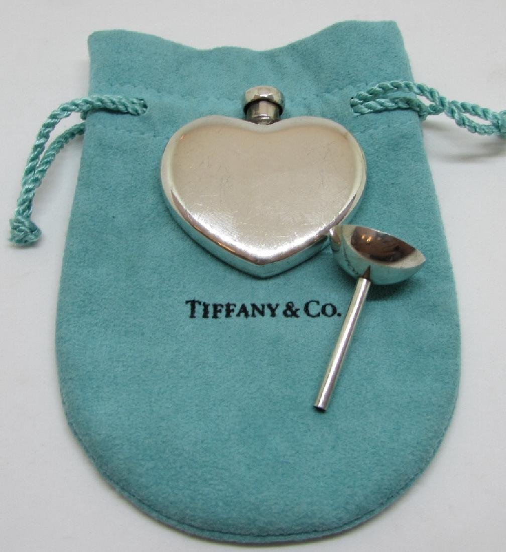 TIFFANY & CO STERLING SILVER PERFUME FLASK FUNNEL