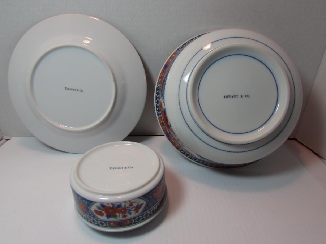TIFFANY & CO IMARI BOWL TRINKET BOX PLATE FLORAL - 2