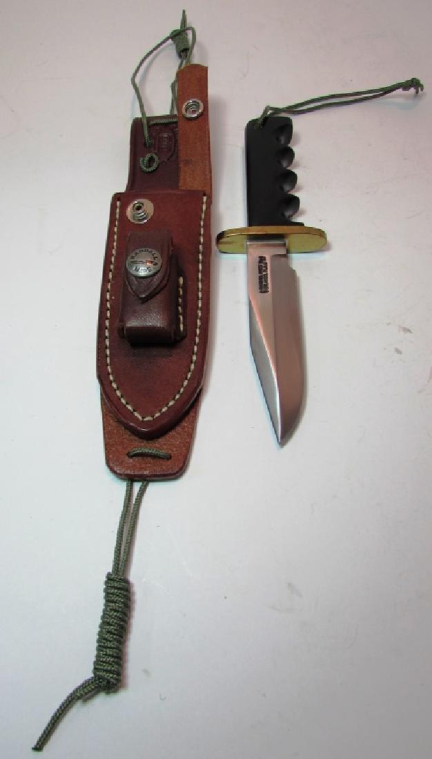RANDALL 970 KNIFE MINT w LEATHER SHEATH STONE