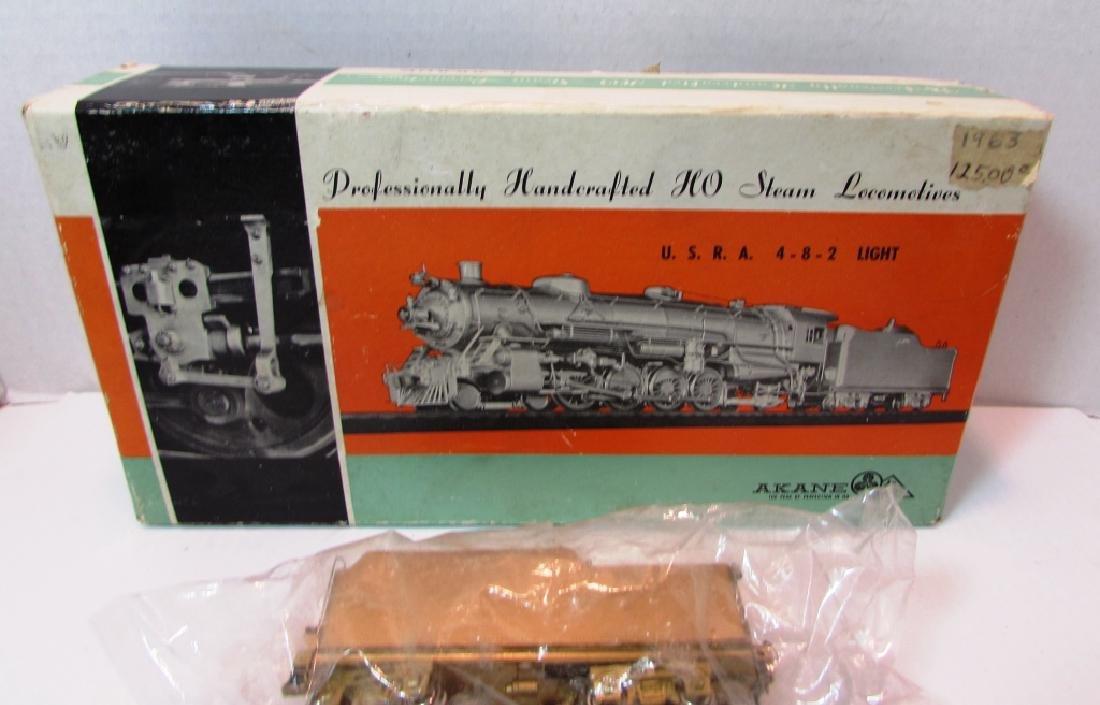 1963 AKANE HANDMADE HO STEAM LOCOMOTIVES IN BOX - 2