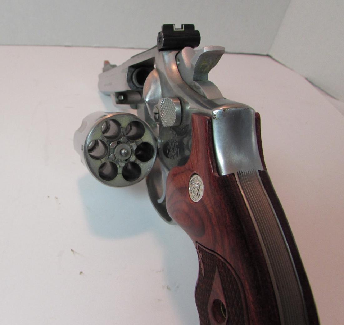 S&W 357 66-2 MAG STAINLESS REVOLVER HANDGUN 6 SHOT - 5
