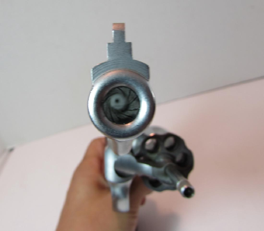 S&W 357 66-2 MAG STAINLESS REVOLVER HANDGUN 6 SHOT - 6