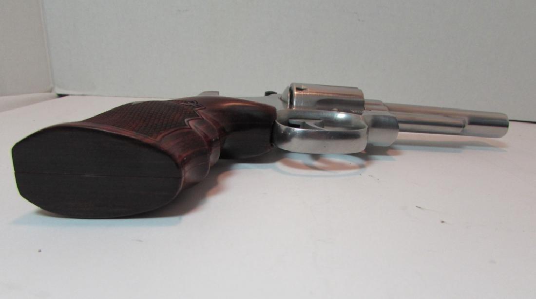 S&W 357 66-2 MAG STAINLESS REVOLVER HANDGUN 6 SHOT - 9