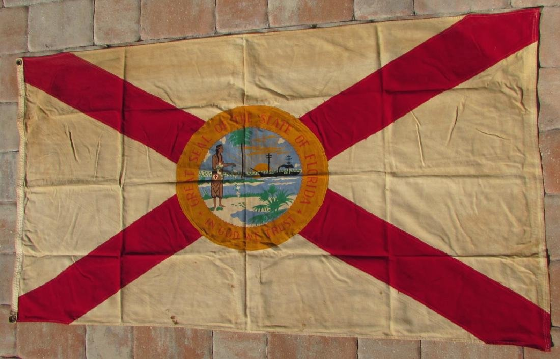 US FLORIDA FLAG STATE GREAT SEAL SHERRITT