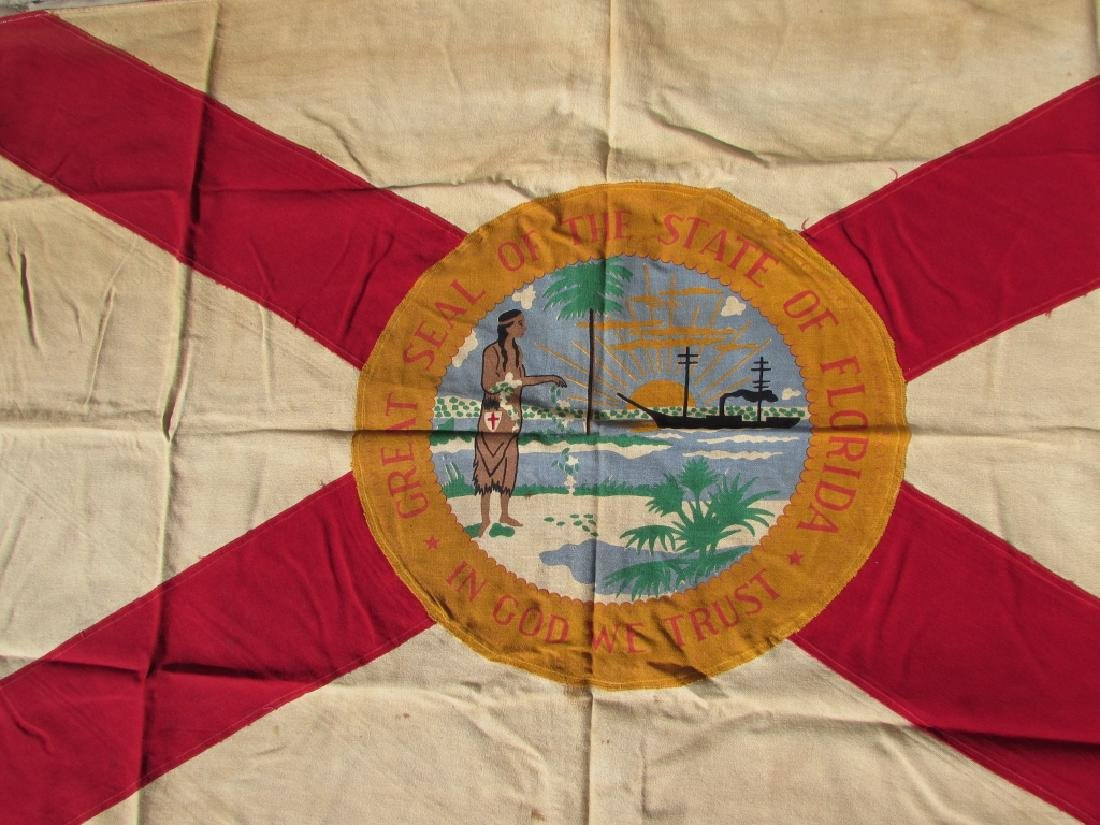 US FLORIDA FLAG STATE GREAT SEAL SHERRITT - 2