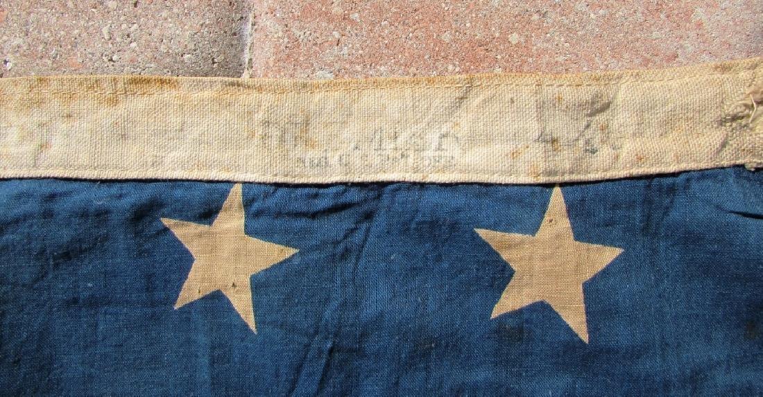 US 48 STAR FLAG COTTON PREMIER 44''x66'' ANTIQUE - 3