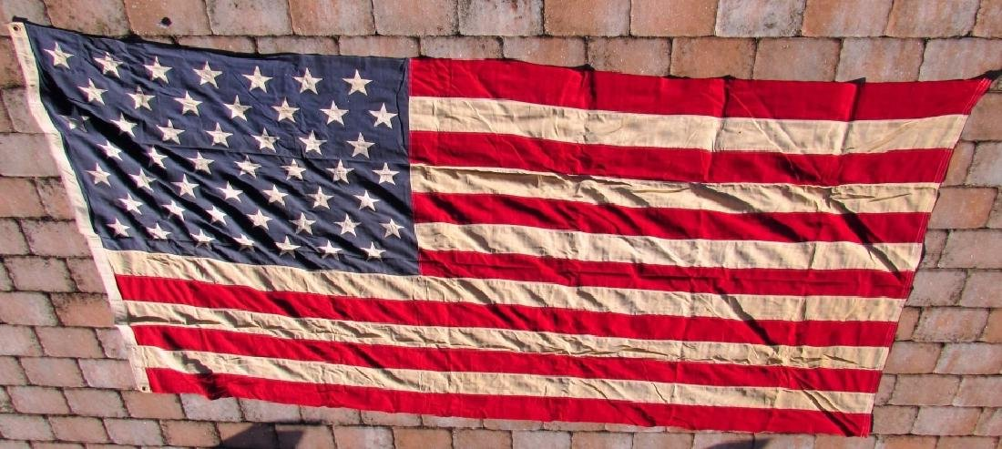 US 49 STAR FLAG COTTON 5 1/4' x 9 1/2'