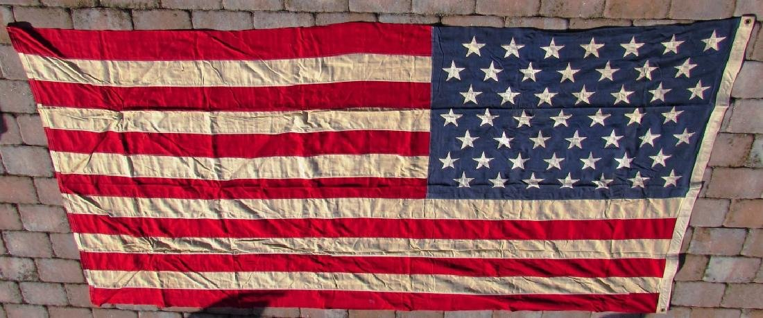 US 49 STAR FLAG COTTON 5 1/4' x 9 1/2' - 2