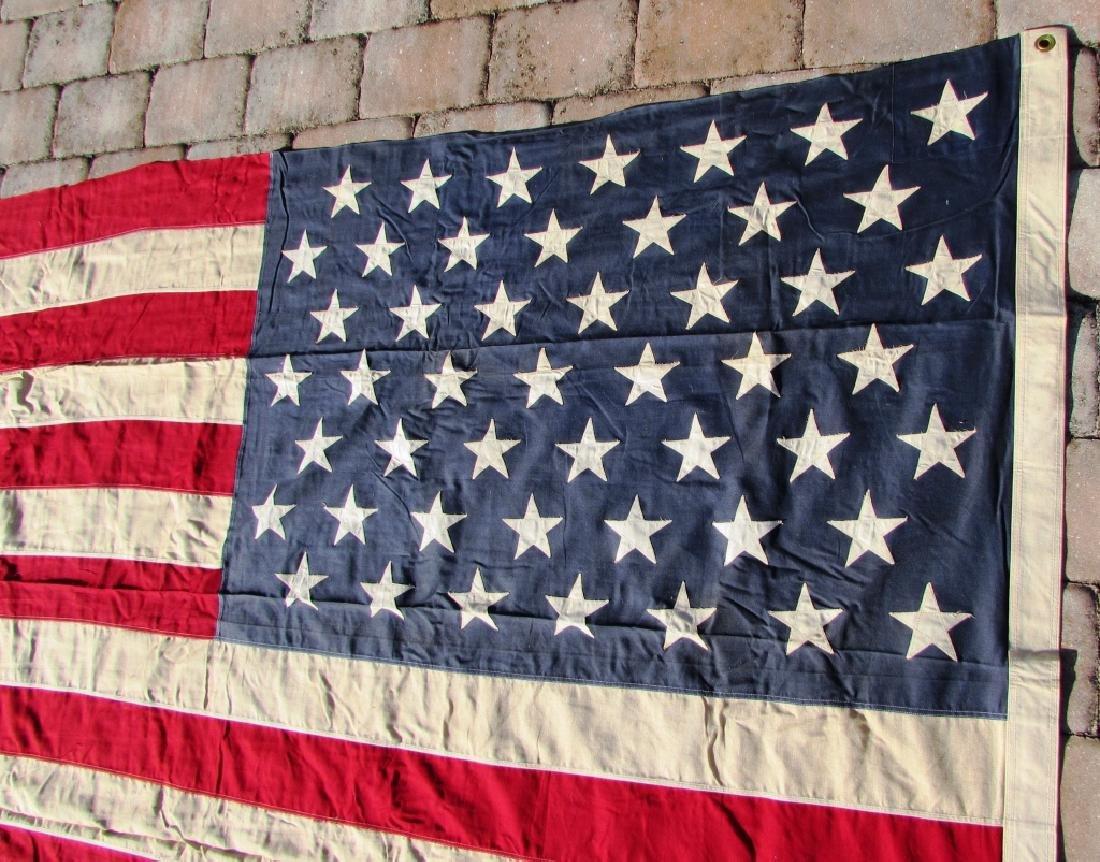 US 49 STAR FLAG COTTON 5 1/4' x 9 1/2' - 3