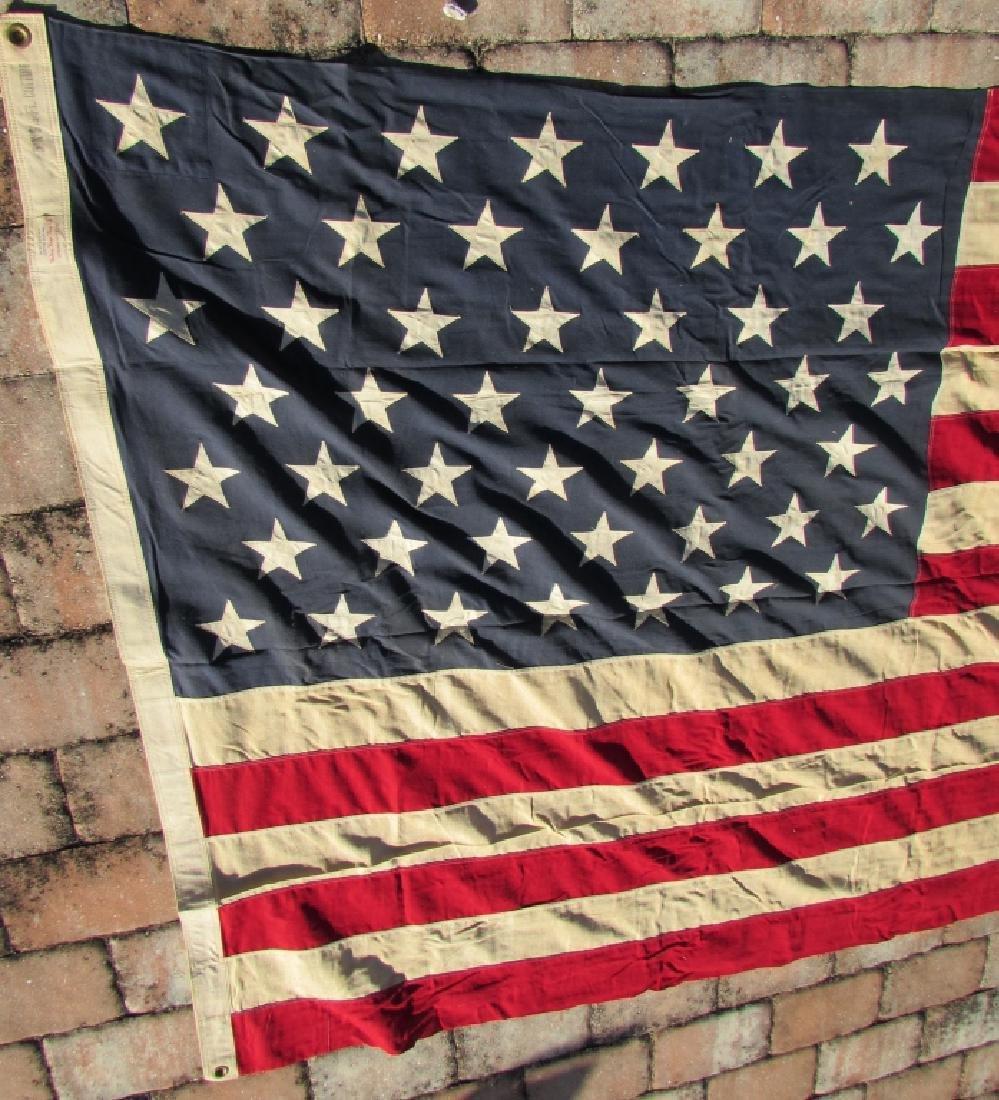 US 49 STAR FLAG COTTON 5 1/4' x 9 1/2' - 4