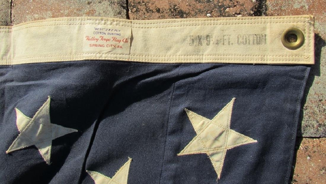 US 49 STAR FLAG COTTON 5 1/4' x 9 1/2' - 5