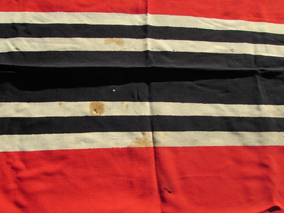 GERMAN WWII NAZI BATTLE FLAG IRON CROSS SWASTIKA - 3