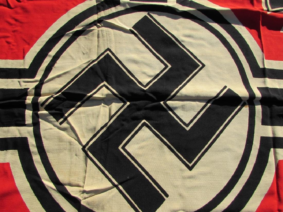 GERMAN WWII NAZI BATTLE FLAG IRON CROSS SWASTIKA - 6