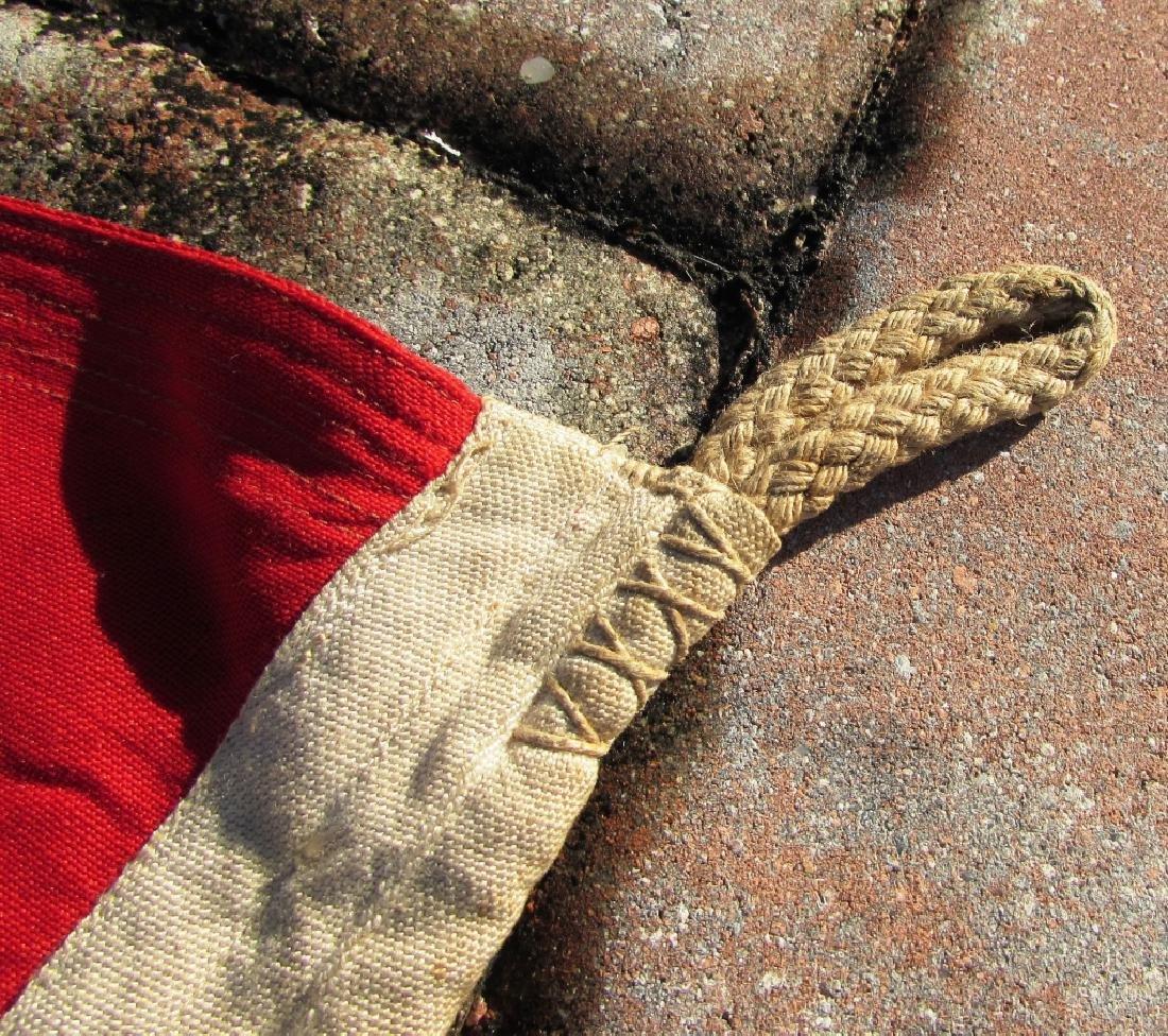 GERMAN WWII NAZI BATTLE FLAG IRON CROSS SWASTIKA - 9