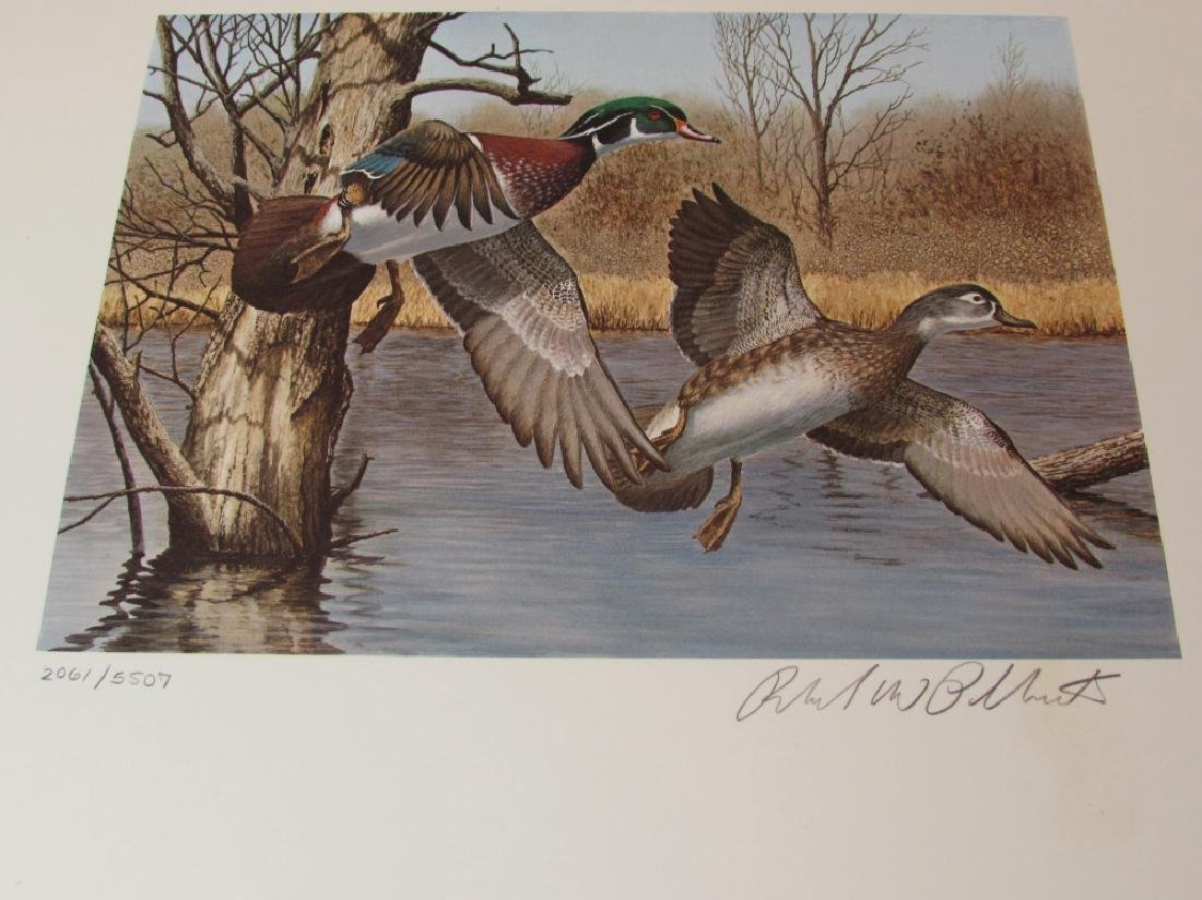 US NH 1983 DUCK PRINT, STAMP & FOLIO PLASSCHAERT - 2