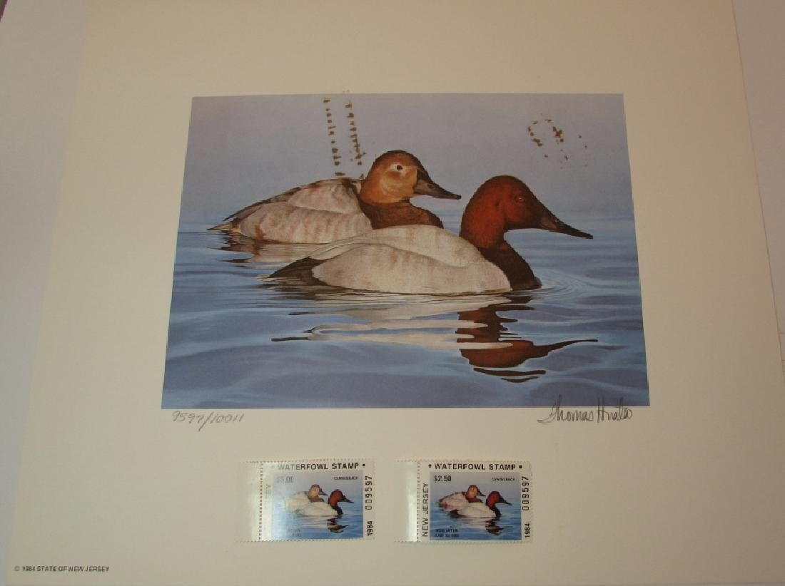 3 DUCK PRINT STAMP FOLIO SETS US OR NJ CANADA 1984 - 2