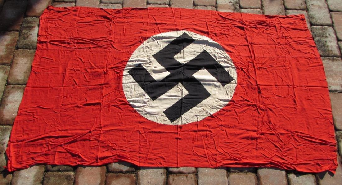 WWII NAZI FLAG NSDAP SWASTIKA