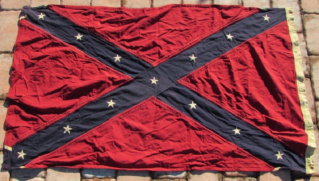 US CONFEDERATE FLAG VIRGINIA BATTLE REBEL NAVY JAC - 4