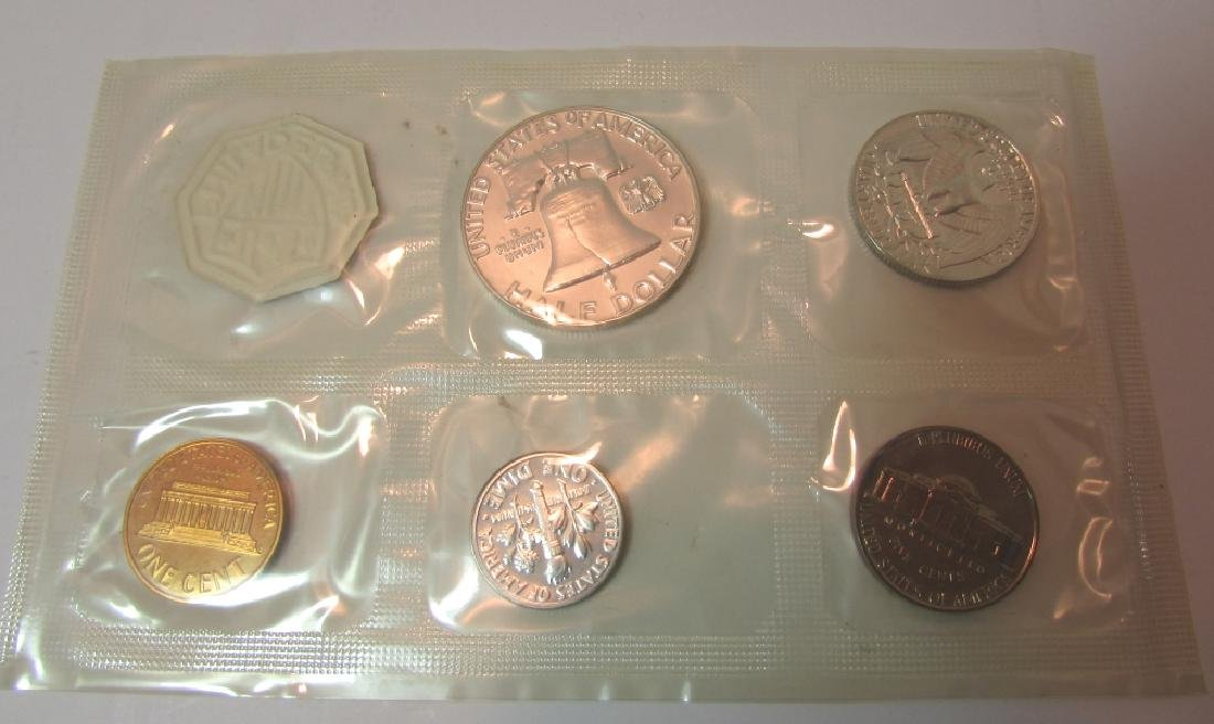 10 SILVER 1961 US PROOF COIN SETS - 5