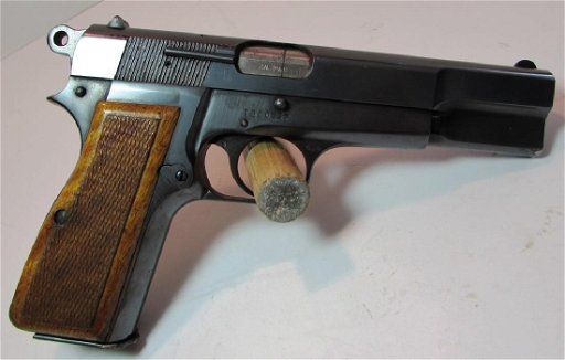 BROWNING HI-POWER 9mm PISTOL HANDGUN BELGIAN