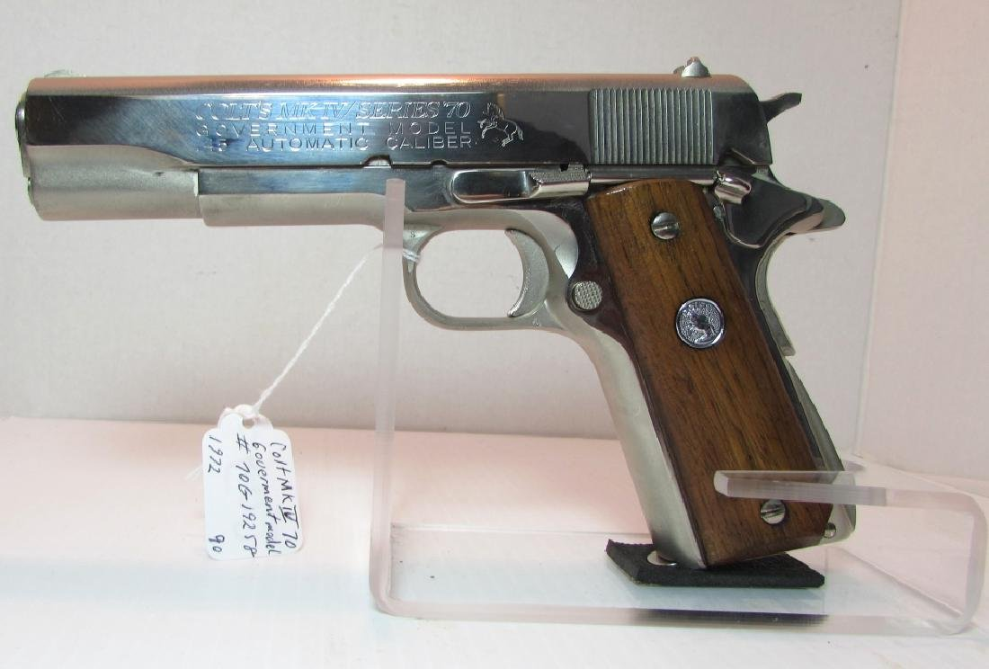 COLT GOVERNMENT 45 MODEL MARK 4 SERIES 70