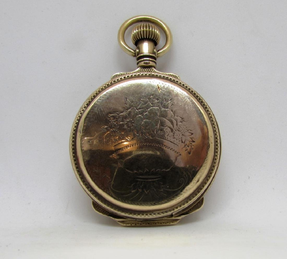 BOX CASE HUNTER POCKET WATCH SOLID GOLD - 2