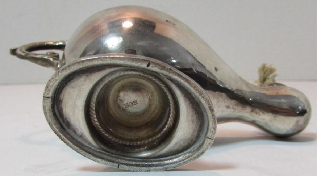 STERLING SILVER OIL ALLADIN LAMP CIGAR LIGHTER - 6