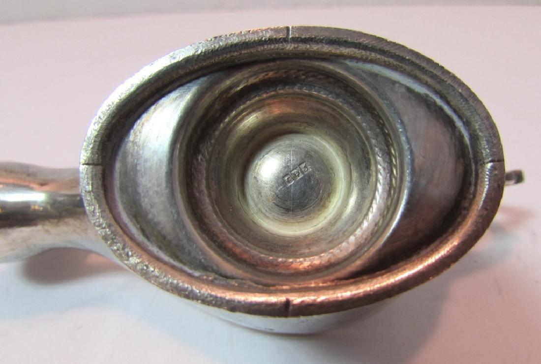 STERLING SILVER OIL ALLADIN LAMP CIGAR LIGHTER - 7