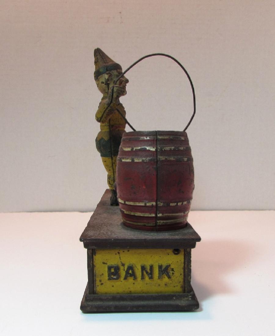 ANTIQUE MECHANICAL BANK TRICK DOG - 5