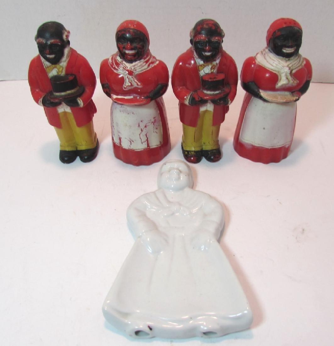 AUNT JEMIMA & UNCLE MOSES LOT BLACK AMERICANA