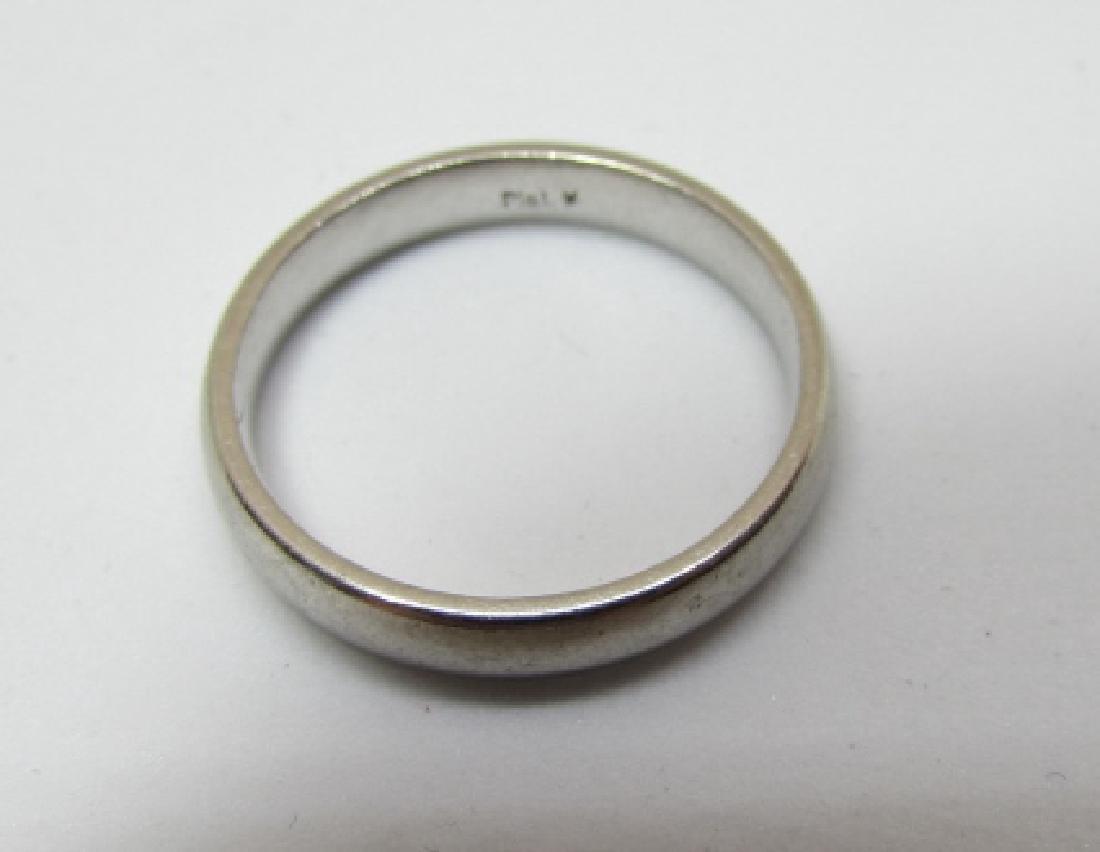 3MM PLATINUM WEDDING BAND RING 4.1 GRAMS - 3
