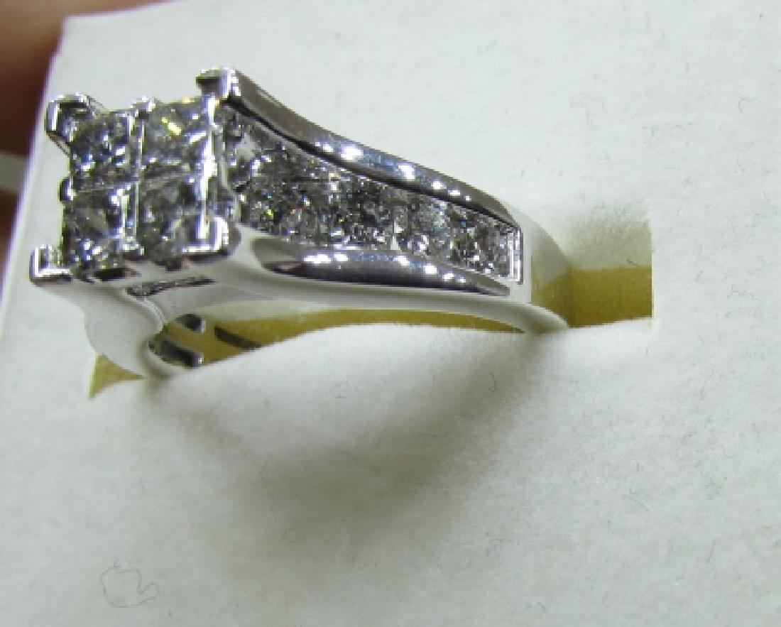 1.50CT DIAMOND RING 14K GOLD ENGAGEMENT KRN