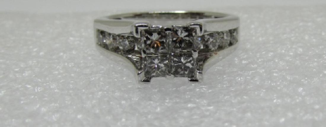 1.50CT DIAMOND RING 14K GOLD ENGAGEMENT KRN - 2
