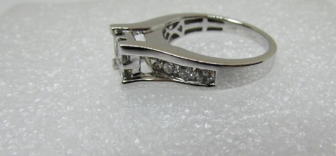 1.50CT DIAMOND RING 14K GOLD ENGAGEMENT KRN - 3