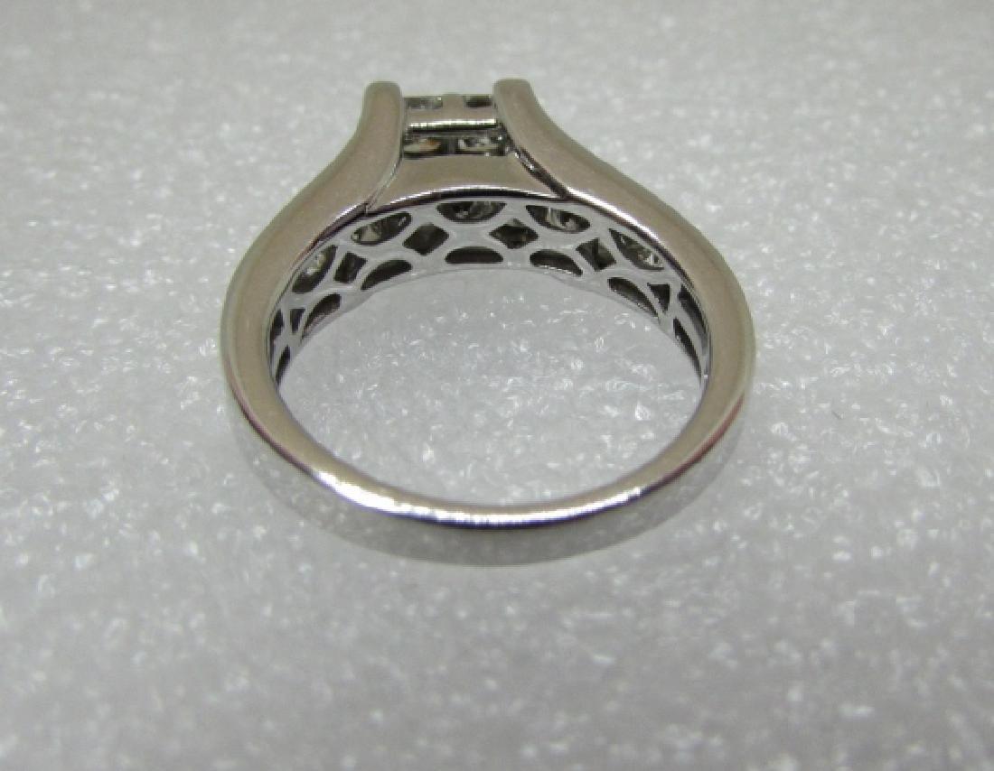 1.50CT DIAMOND RING 14K GOLD ENGAGEMENT KRN - 4