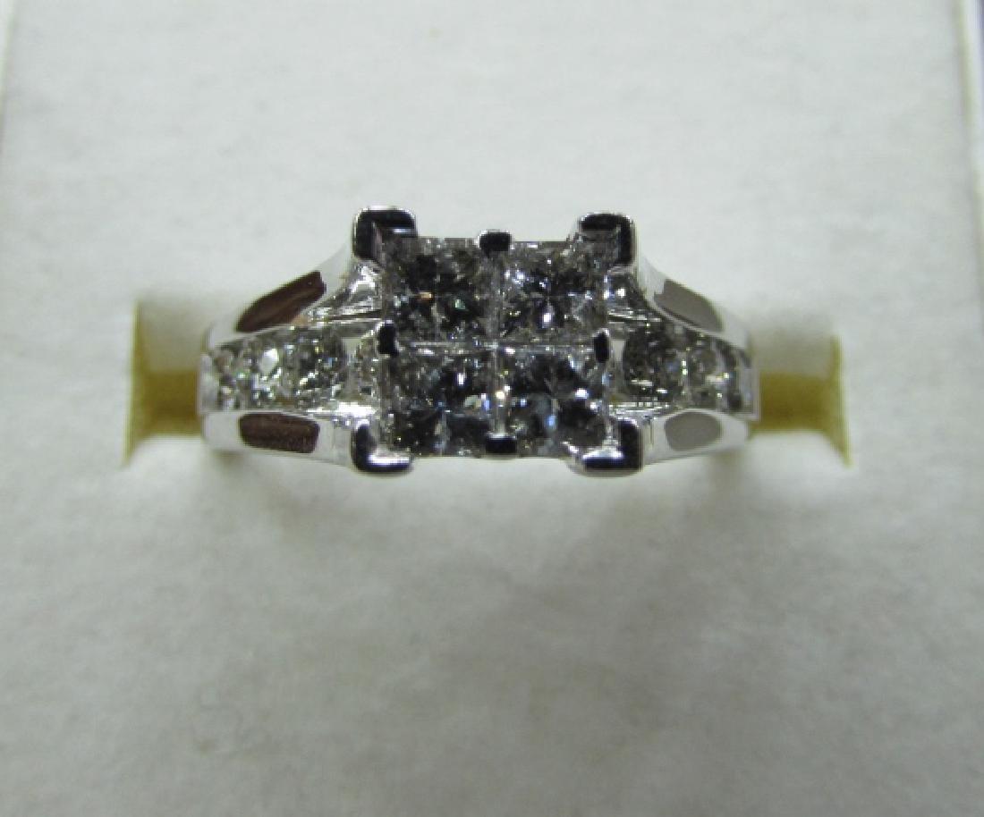 1.50CT DIAMOND RING 14K GOLD ENGAGEMENT KRN - 5