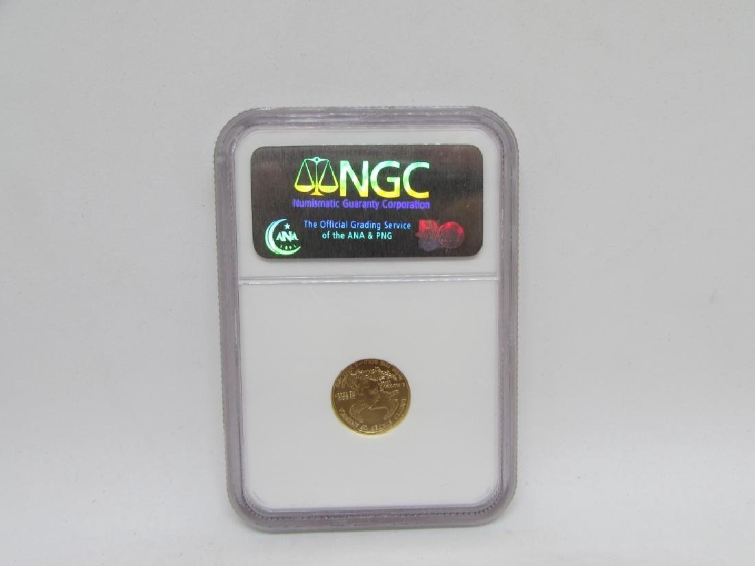 2007 $5 GOLD HALF EAGLE NGC MS69 EARLY RELEASE - 2