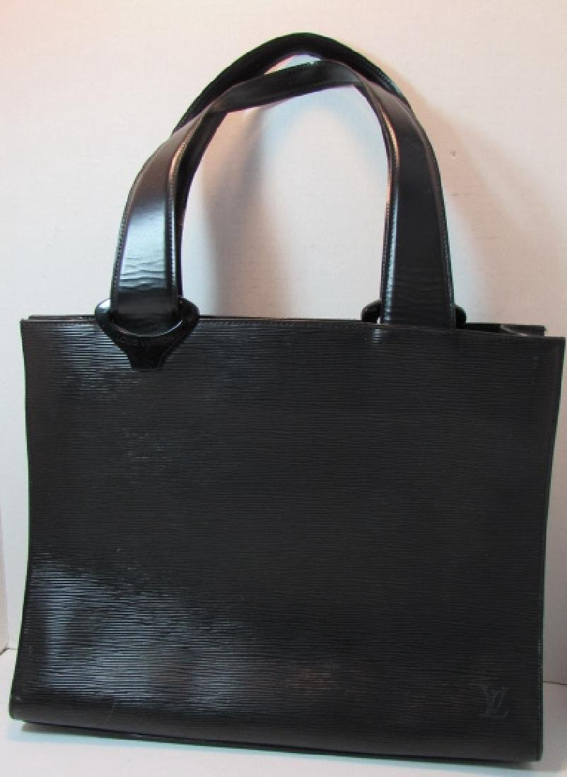 LOUIS VUITTON EPI LEATHER TOTE BAG GEMEAUX PURSE