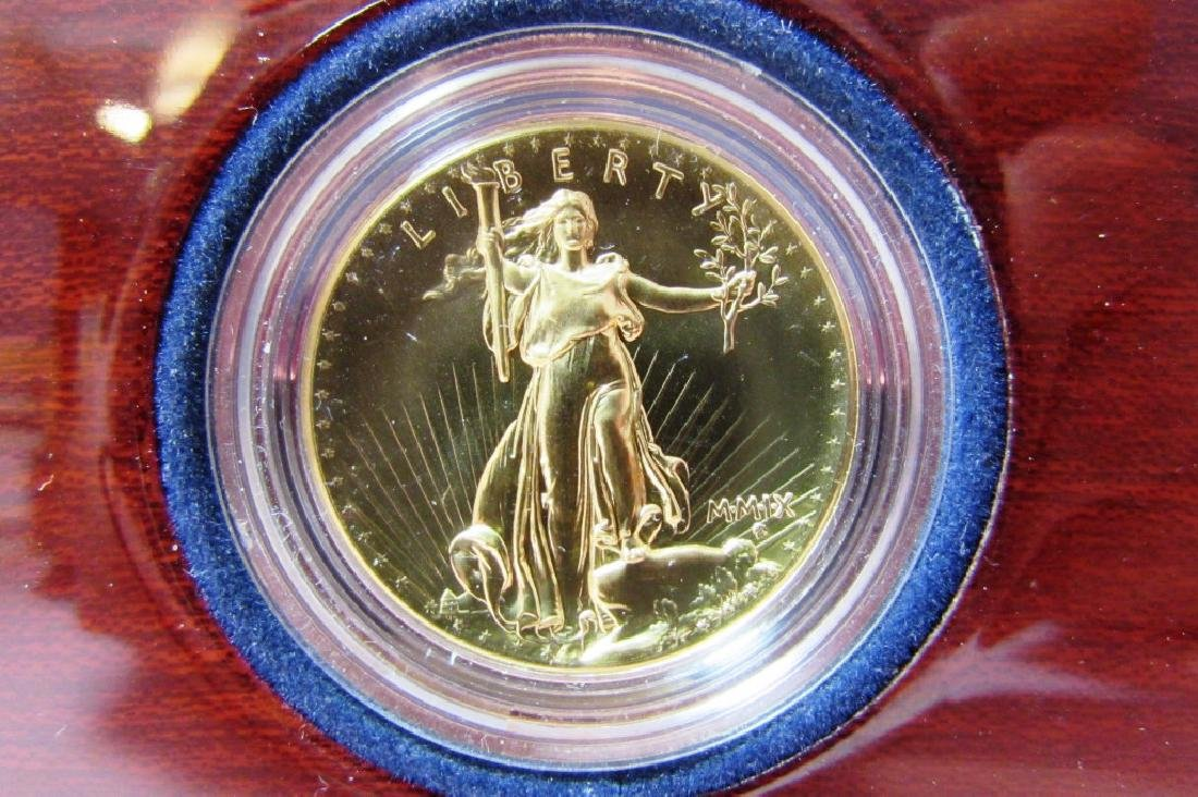 2009 ULTRA HIGH RELIEF DOUBLE EAGLE US GOLD COIN