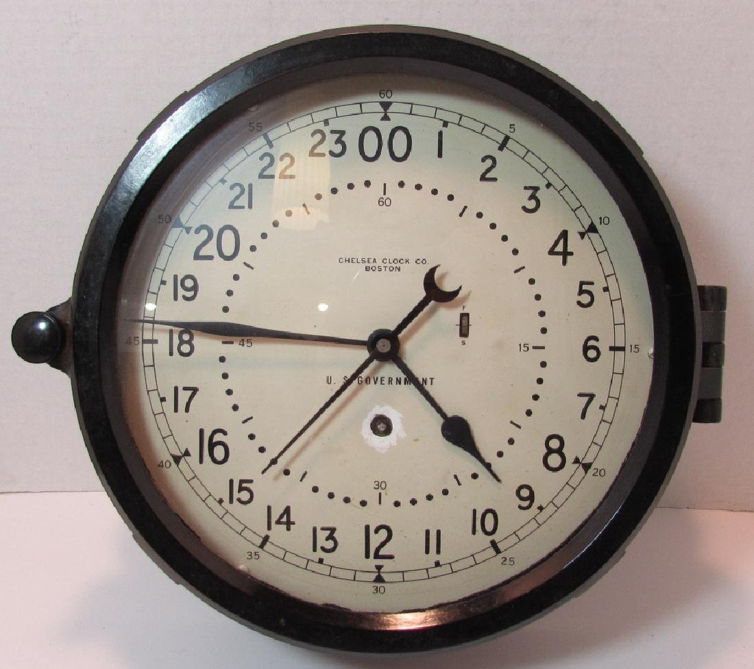 CHELSEA SHIPS CLOCK 8.5 INCH DIAL