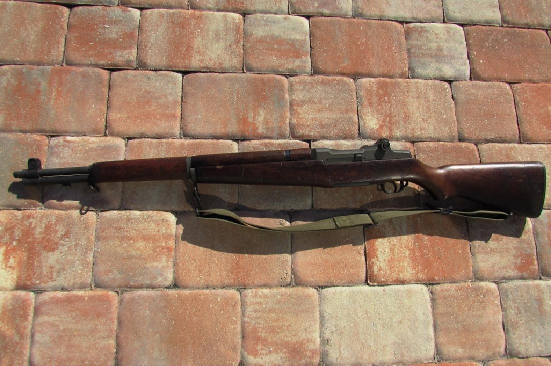 SPRINGFIELD US M1 GARAND RIFLE 30 CAL w KIT WWII - 4