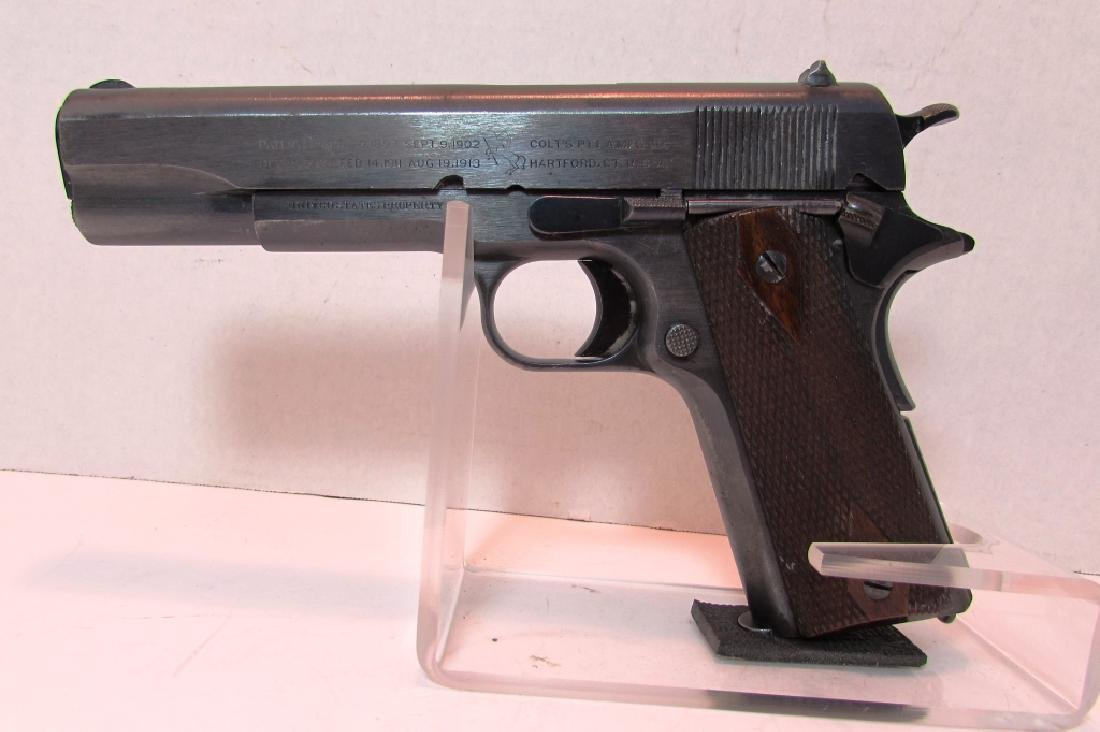1914 COLT ARMY 1911 45 ACP PISTOL MILITARY WWI
