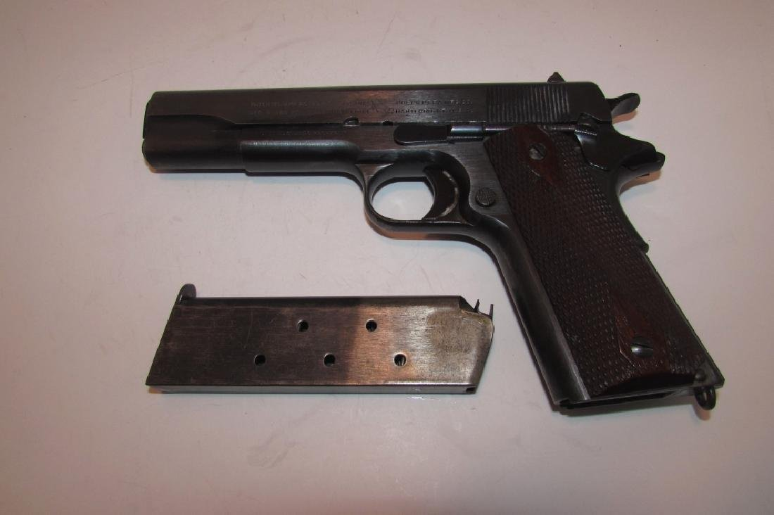 1914 COLT ARMY 1911 45 ACP PISTOL MILITARY WWI - 3