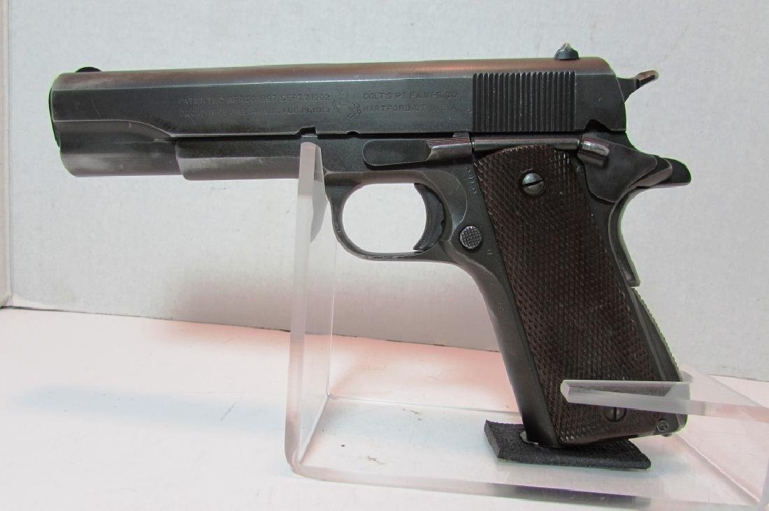1944 COLT 1911 A1 ARMY US PROPERTY MILITARY PISTOL