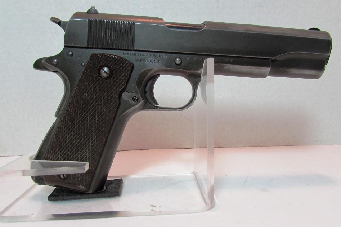 1944 COLT 1911 A1 ARMY US PROPERTY MILITARY PISTOL - 2