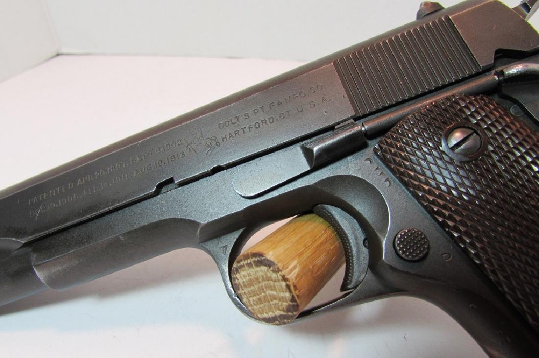1944 COLT 1911 A1 ARMY US PROPERTY MILITARY PISTOL - 3