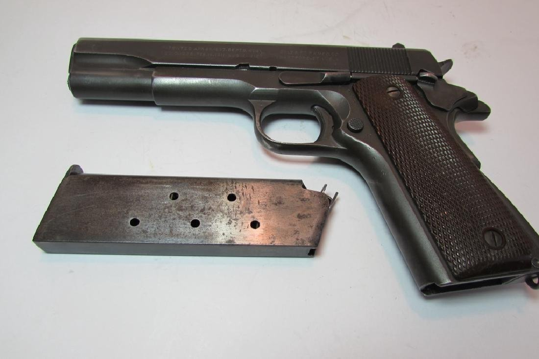 1944 COLT 1911 A1 ARMY US PROPERTY MILITARY PISTOL - 6
