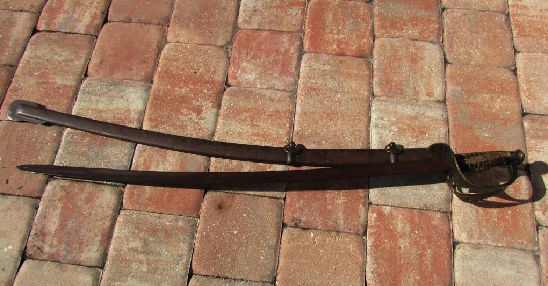 NASHVILLE PLOW WORKS SABER SWORD CAVALRY CIVIL WAR - 5