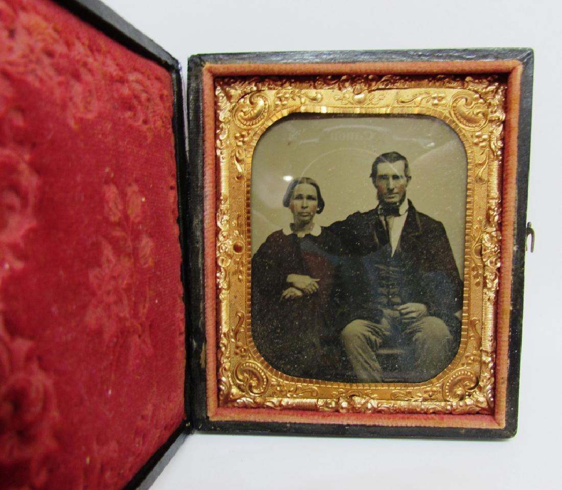 DAGUERREOTYPE PICTURE PHOTOGRAPH MAN & WOMAN - 2