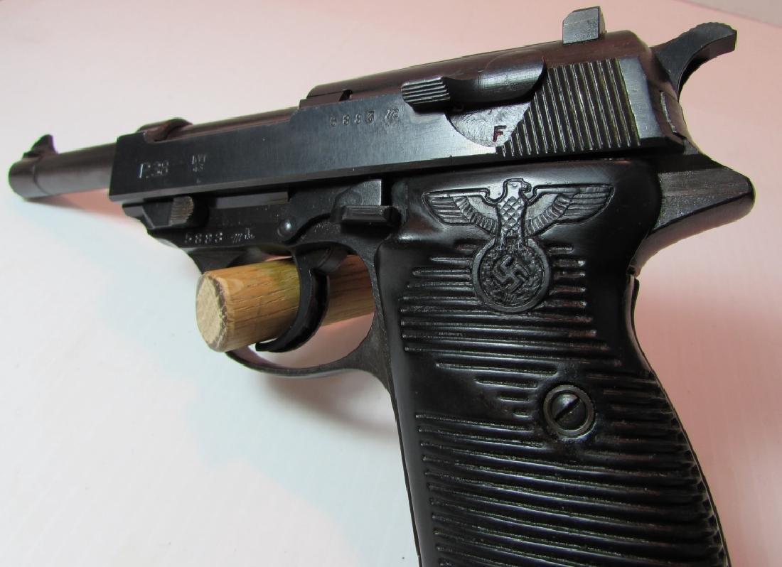 1943 MAUSER P38 9mm PISTOL PARTY GRIPS HANDGUN - 2